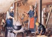 Костюмы и быт Викингов