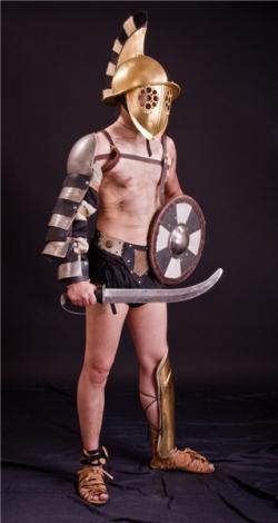 Доспех гладиатора Фракийца