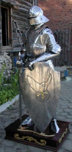 Доспех Рыцаря 15 века.