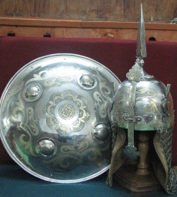 Комплект доспехов турецкого воина 16 века.