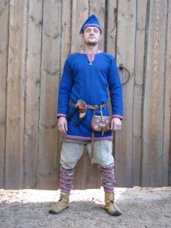 Костюм мужской средневековый