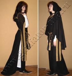 Костюм женский средневековый,